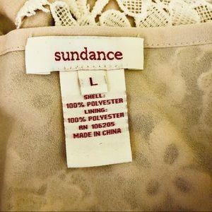 Sundance Tops - Sundance catalog ivory floral lace overlay blouse